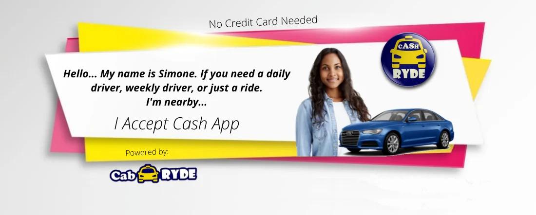 Drivers accept CashApp