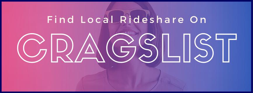 Find Local Rideshare on Cragslist