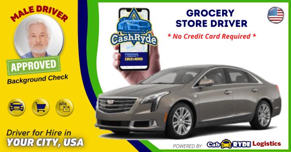 2019 Cadillac XTS GOLD - Rideshare (Sample)