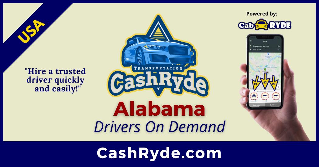 Alabama Drivers On-Demand