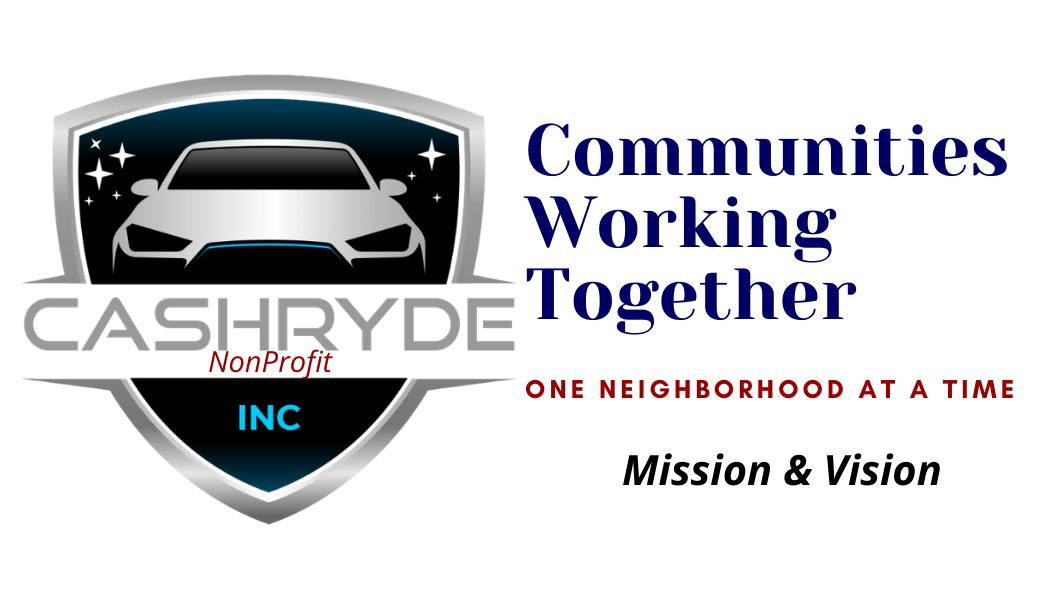 CashRyde Nonprofit Mission & Vision