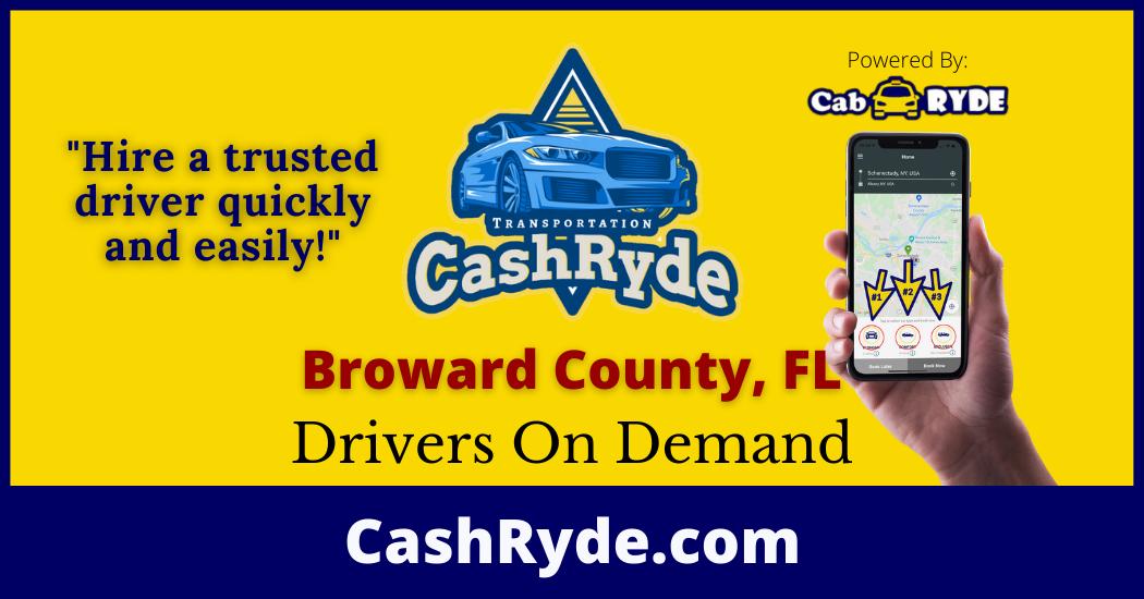 Drivers On-Demand in Broward County, FL