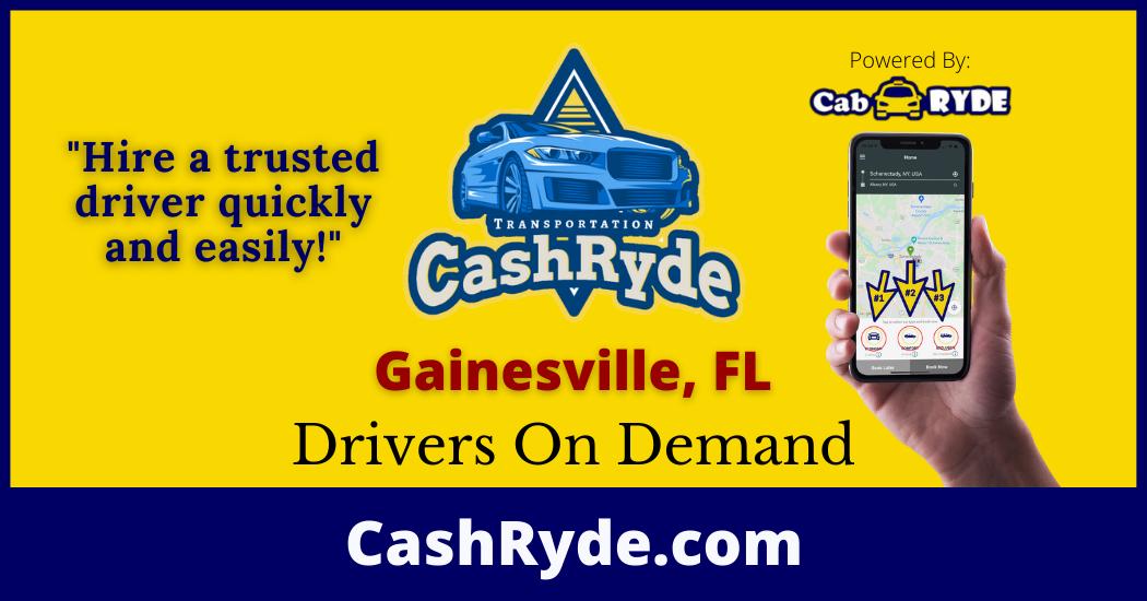 Drivers On-Demand in Gainesville, FL