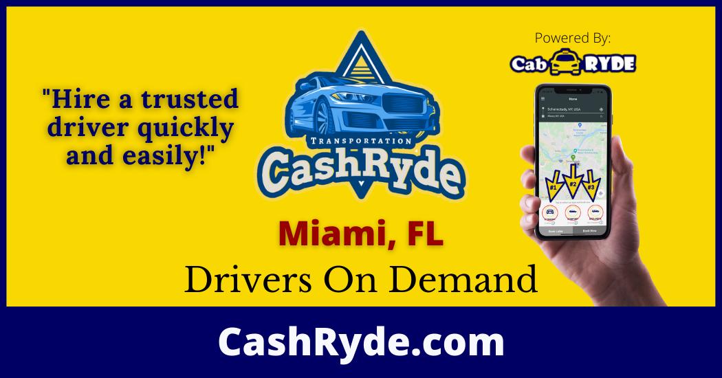 Drivers On-Demand in Miami, FL