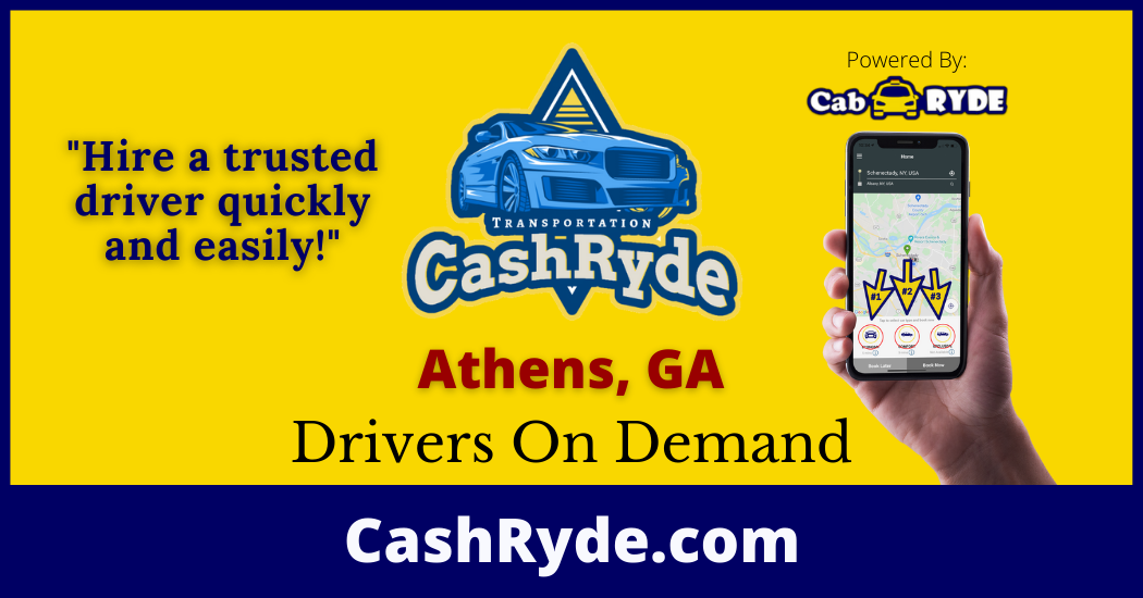 Drivers On-Demand in Athens, GA
