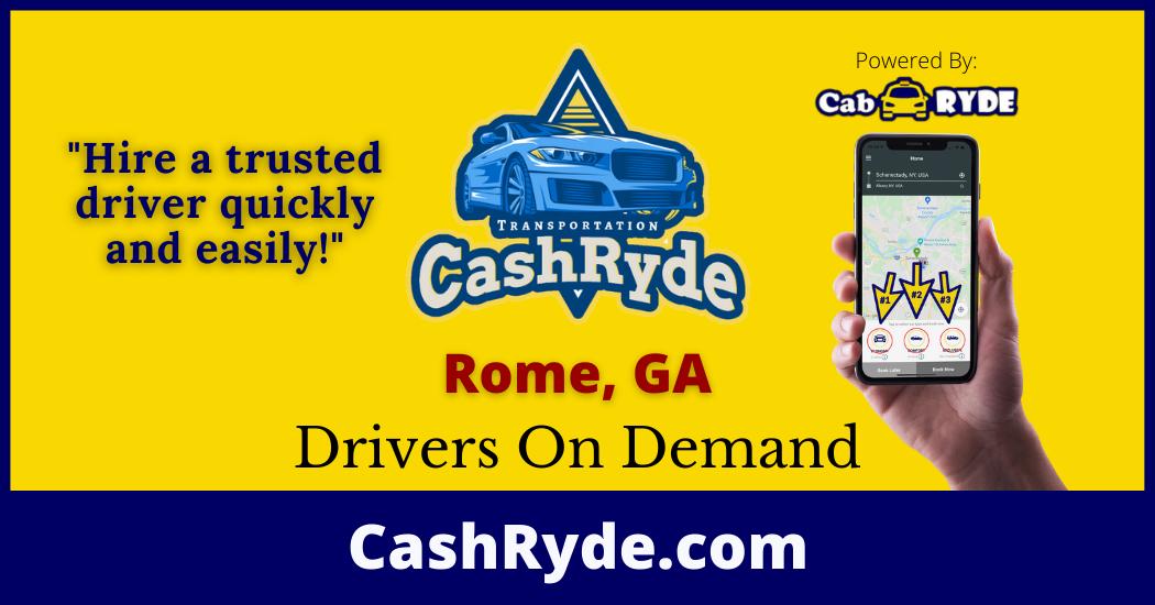 Drivers On-Demand in Rome, GA