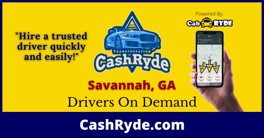 Drivers On-Demand in Savannah, GA