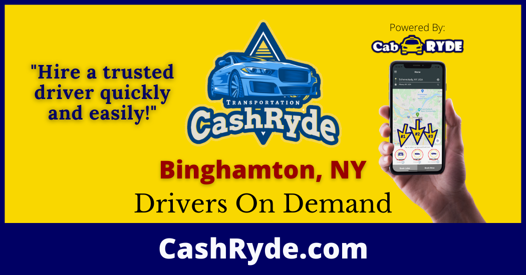 Drivers On-Demand in Binghamton, NY