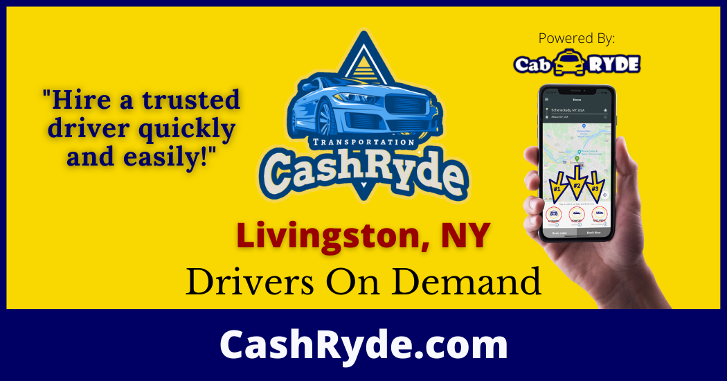 Drivers On-Demand in Livingston, NY